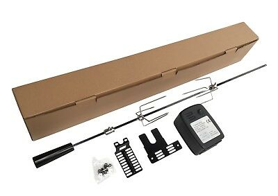 £47.99 • Buy Extra Quiet Motor Bbq Barbecue Rotisserie Spit Universal Kit - 41 Inch
