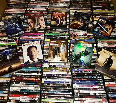 $ CDN50.12 • Buy Lots Of 50 Used ASSORTED DVD Movies 50-Bulk DVDs Lot Wholesale Lots $750+ MSRP!!