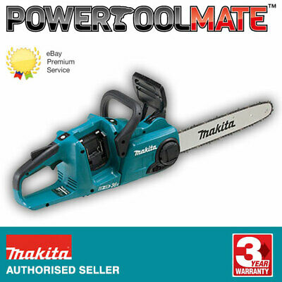 View Details Makita DUC353Z 36V (Twin 18V) Cordless Brushless 350mm Chainsaw *Body Only* • 172.99£