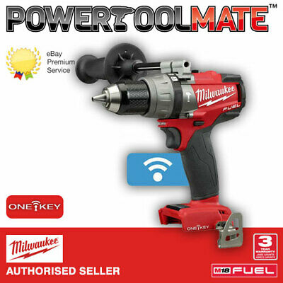 View Details Milwaukee M18ONEPD-0 One Key Fuel Brushless Hammer Combi Drill *naked*NEW M18FPD • 93.99£