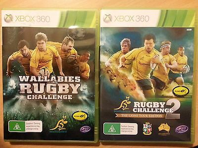 AU49.99 • Buy Game Xbox 360 Wallabies Rugby Challenge, Two Games