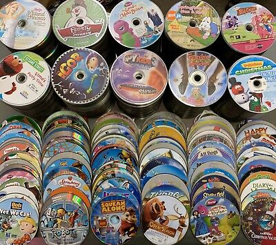 $ CDN44.59 • Buy 100 DVD Lot Kids Wholesale Great For Personal Or Resale Bulk Movies Tv Show Lots