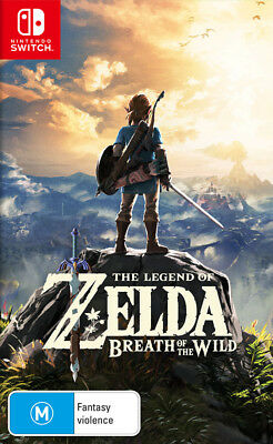 AU88.95 • Buy The Legend Of Zelda Breath Of The Wild Switch Game NEW