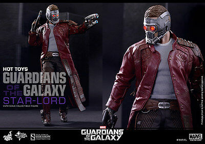$ CDN609.95 • Buy HOT TOYS Guardians Of The Galaxy STAR-LORD 12  1/6 Scale Figure Marvel Pratt
