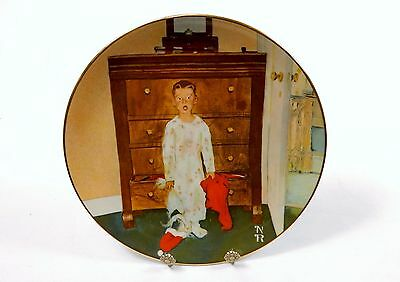 $ CDN66.60 • Buy Norman Rockwell Collector Plate  The Truth About Santa , 1974 Lake Shore Prints