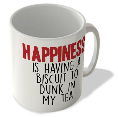 £9.99 • Buy Happiness Is Having A Biscuit To Dunk In My Tea - Mug