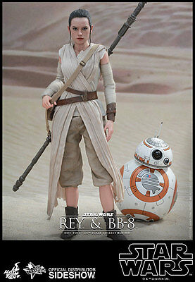 $ CDN423.58 • Buy HOT TOYS Star Wars Episode VII Force Awakens REY And BB-8 12  1/6 Scale Figure