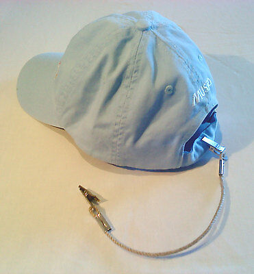 CAP RETAINER / HAT CLIP - Clip To Collar/Backpack - Boating/Camping/Hiking -Hemp • 8.19£