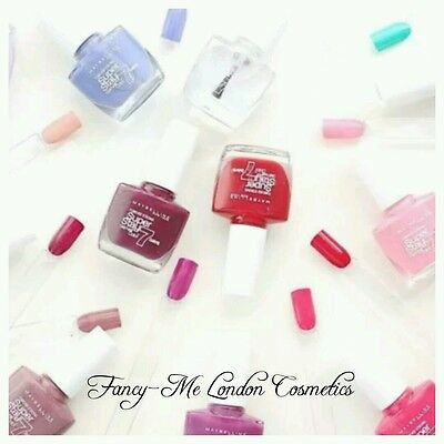 £2.84 • Buy MAYBELLINE Forever Strong Superstay 7Day GEL NAIL NEW COLOUR COLECTION FREE POST