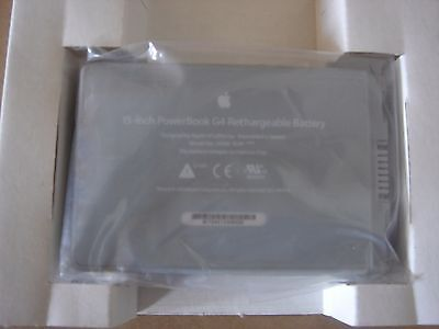 Battery D'Genuine Apple Powerbook G4 15' 661-2927 A1045 A1078 A1148 New • 83.58£