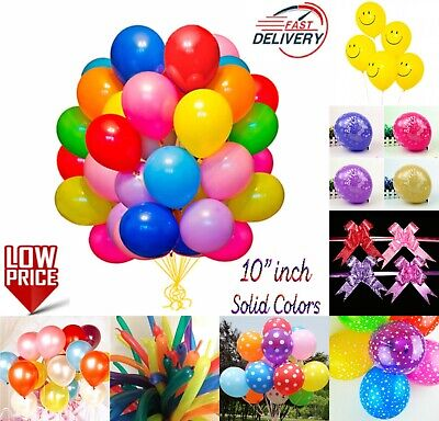 $9.86 • Buy WHOLESALE JOBLOT BALLOONS Latex BULK PRICE High Quality Any Occasion BALLONS