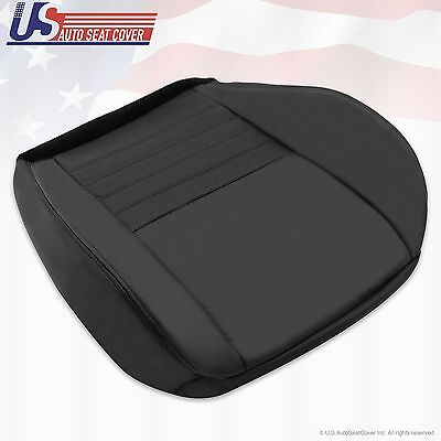 $140.38 • Buy 1999 2000 2001 2002 2003 2004 Ford Mustang GT V8 Driver Bottom Seat Cover Black