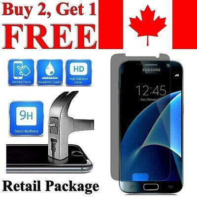 $ CDN4.95 • Buy Privacy Anti-Spy Tempered Glass Screen Protector For Samsung Galaxy S7