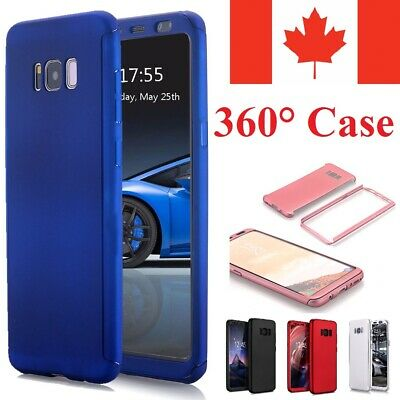 $ CDN7.95 • Buy For Samsung Galaxy S7 S6 S5 Case - Ultra Thin 360 Hard Cover + Tempered Glass