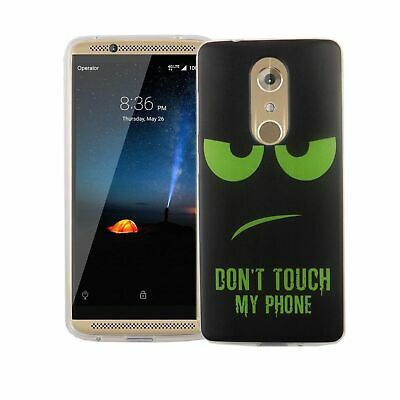 AU14.13 • Buy Case For ZTE Axon 7 Mini Don'T Touch Green Case Cover Motif TPU New