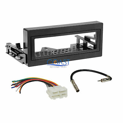 $17.95 • Buy Car Radio Stereo Install Dash Kit Wire Harness For 1995-up GMC Chevy Cadillac
