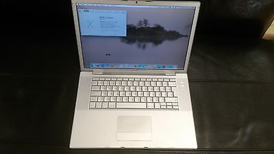 $229 • Buy Apple MacBook Pro 15 A1260 Early 2008 - MB133LL/A Non Working To Parse Or Repair