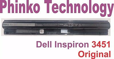 AU86.89 • Buy NEW M5Y1K Original Battery For Dell Inspiron 3451 3551 5558 5758