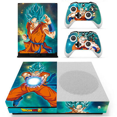$11.60 • Buy Xbox One S Anime Dragon Ball Z Goku Vinyl Skin Decals Stickers For Console Remo