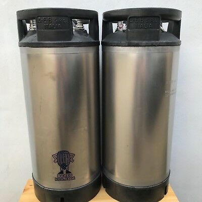 £160 • Buy Two AEB Corny Cornelius Kegs 19L Ball Lock Reconditioned From Naked Keg