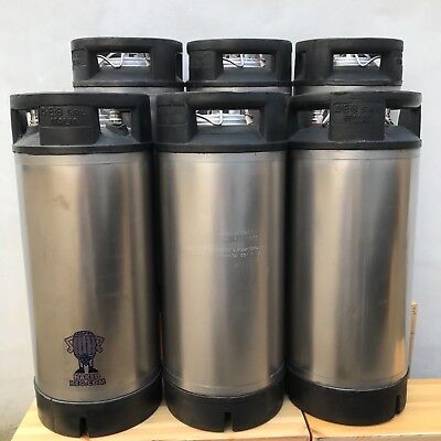 £460 • Buy Six AEB Corny Cornelius Beer Kegs 19L Ball Lock Reconditioned From Naked Keg