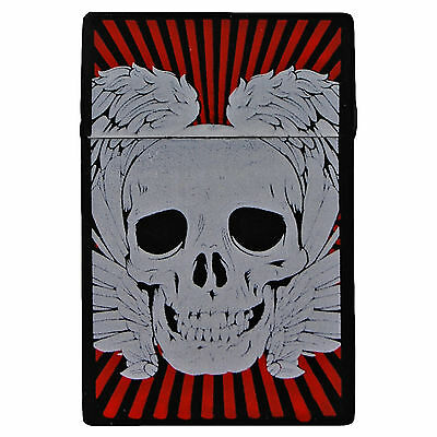 Silicone Skull Cigarette Case. 20 Pack Cover Cig Packet Cool Gift Idea • 2.50£