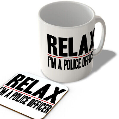 £11.99 • Buy Relax - I'm A Police Officer - Mug And Coaster Set