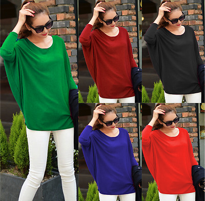 £7.99 • Buy BT Womens Oversized Baggy Batwing Quality Knitted Top / Jumper