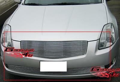 $75.99 • Buy Fits 2004-2006 Nissan Maxima Billet Grille Combo