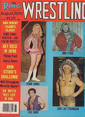 $ CDN23.63 • Buy The Ring Wrestling August 1979 Debbie Combs, Jay Strongbow 040717nonDBE2