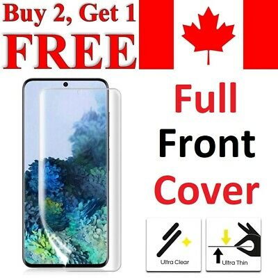 $ CDN3.95 • Buy Curved Screen Protector For Samsung Galaxy S21 Ultra S20 Plus S10 S9 S8 S7 Edge