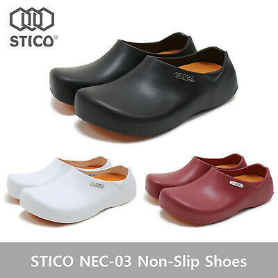£43.89 • Buy STICO NEC-03 Men Chef Shoes Clog Kitchen Non-Slip Safety Shoes Oil&Water Rubber