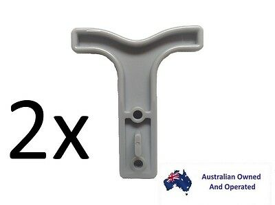AU6.95 • Buy 2 X T-BAR Handle For 50amps Anderson, For Anderson Style Plugs Au Stock