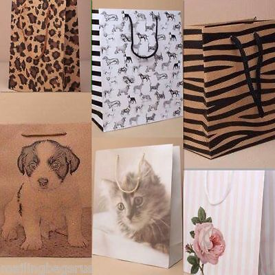 Gift Bags Animal Children Party Weddings Birthdays Births All Sizes • 2.29£
