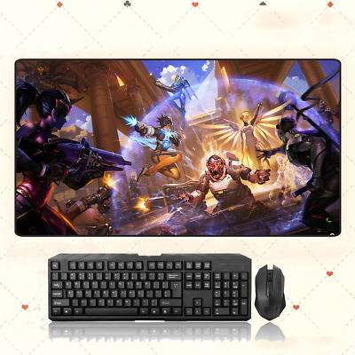 AU28.42 • Buy GAME Overwatch OW Extra Large Mouse Pad Free Shipping(32'' * 16'')