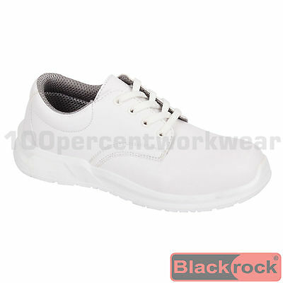 Nurses Medical Food Hygiene Catering Safety Work Lace Up Shoes Steel Toe Cap SRC • 25.95£