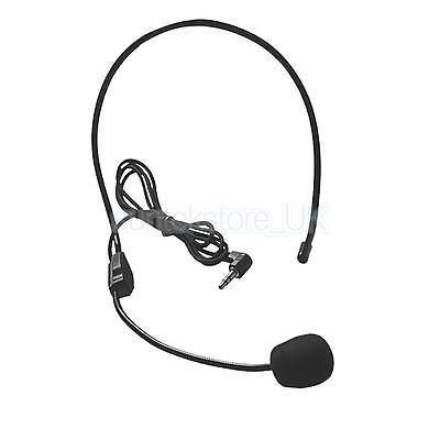 NEW Hands Free Overhead VOIP Skype Headset W/ Microphone 3.5mm Audio Speaker • 3.63£