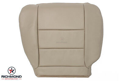 $166.50 • Buy 05-07 Ford F250 Lariat Extended QUAD CAB-Driver Bottom Leather Seat Cover Tan