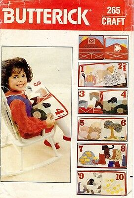 $6.99 • Buy 1970's VTG Butterick Counting Book Pattern 265 UNCUT