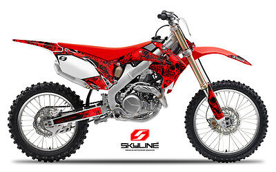$159.99 • Buy 2002 2003 2004 Honda Crf 450r Graphics Kit Crf450r Decals Motocross Stickers