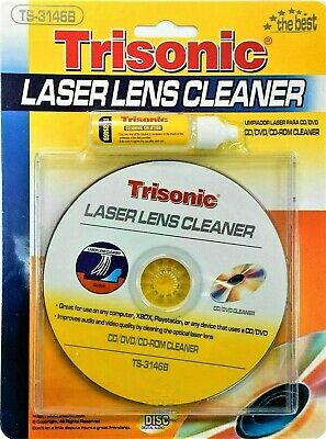£4.98 • Buy Laser Lens Cleaner For CD DVD CD-ROM XBOX Playstation With Cleaning Kit PS2 PS3