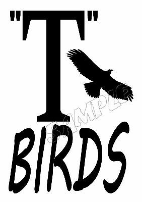 £4.63 • Buy T-BIRDS - GREASE MOVIE - IRON ON TRANSFER Or STICKER DRESS UP COSTUME