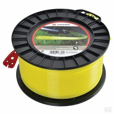 £17.99 • Buy 1.6mm X 100M HEAVY DUTY STRIMMER TRIMMER LINE CORD WIRE ***FREE POST***