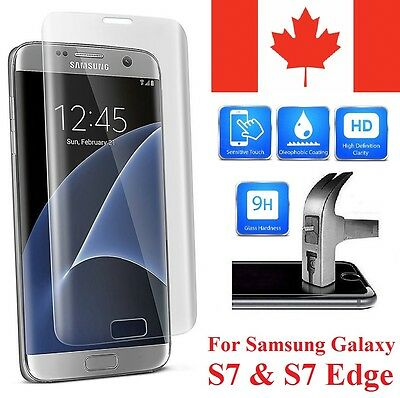 $ CDN5.99 • Buy Samsung Galaxy S7 3D Curved Tempered Glass Screen Protector Full Coverage