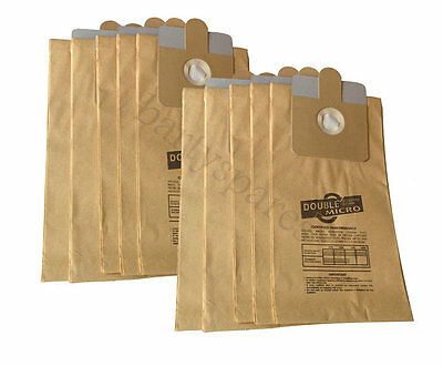 TEN Dust Bags For RL095 RL111 Ash BBQ Fire Wood Debris Collector Vacuum Hoover • 11.34£