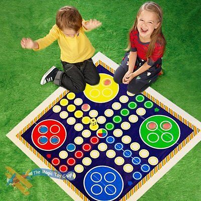 Giant Snakes And Ladders Or Ludo Play Mat Board Traditional Childrens Game Ludo • 5.46£