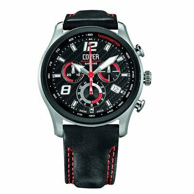 Cover Men's Watch Chronograph Swiss Made Co135.BI1LBK/R New • 293.34£