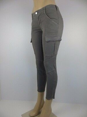 £80.46 • Buy NWT J BRAND WOMENS JEANS, CROPPED HOULIHAN, SKINNY CARGO, Size 25, Retail $268