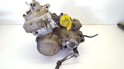 AU895 • Buy Kawasaki KDX200 1991 Worn Motor Engine Gearbox Complete Tired Rebuild KDX 200 89