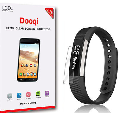 $ CDN7.92 • Buy 6X Dooqi [Full Coverage] HD Clear LCD Screen Protector For Fitbit Alta HR
